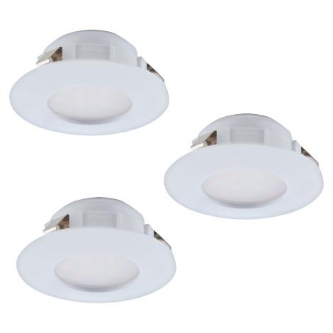 Eglo 95807 - SADA 3x LED podhledové svítidlo PINEDA 3xLED/6W/230V