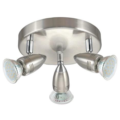 Eglo 95824 - LED Bodové svítidlo MAGNUM LED 3xGU10-LED/3W/230V