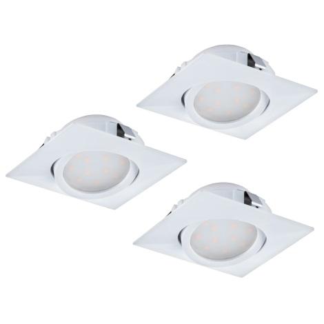 Eglo 95844 - SADA 3x LED podhledové svítidlo PINEDA 3xLED/6W/230V
