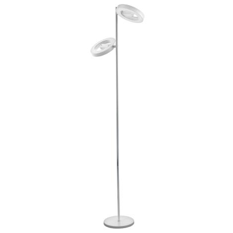 Eglo 95907 - LED stojací lampa ALVENDRE-S 2xLED/12W/230V