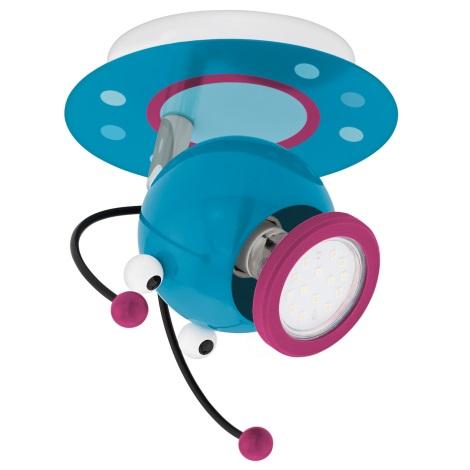 Eglo 95941 - Dětské bodové svítidlo LAIA 1 1xGU10-LED/3W/230V