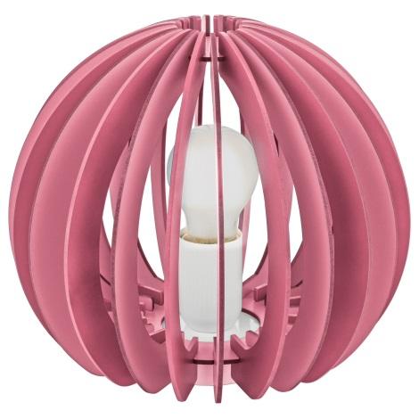 Eglo 95954 - Stolní lampa FABELLA 1xE27/42W/230V