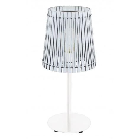Eglo 96189 - Stolní lampa SENDERO 1xE27/60W/230V