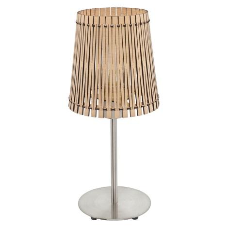 Eglo 96196 - Stolní lampa SENDERO 1xE27/60W/230V