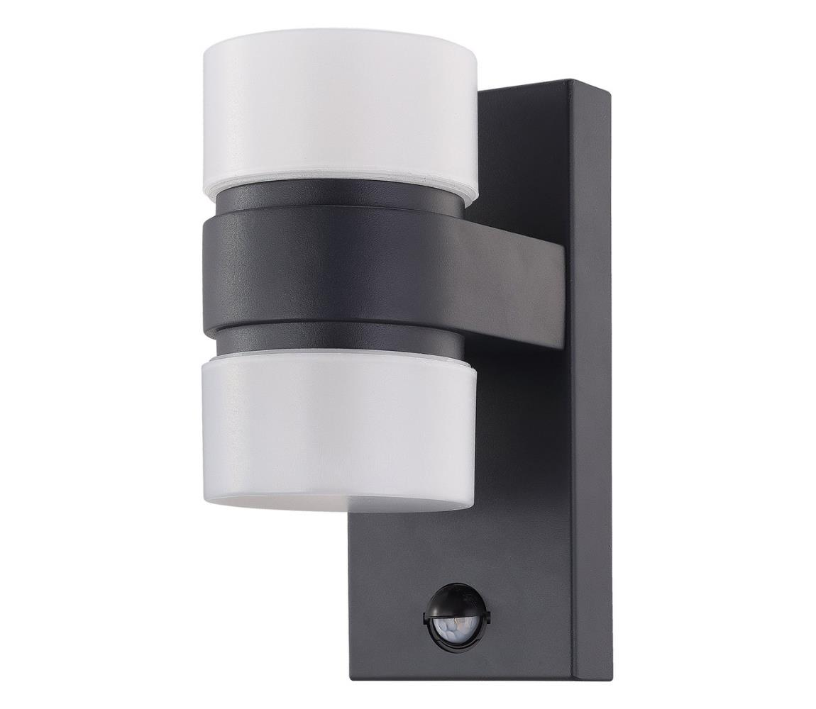 Eglo 96276 - LED Venkovní nástěnné svítidlo s čidlem ATOLLARI 2xLED/6W IP44 EG96276