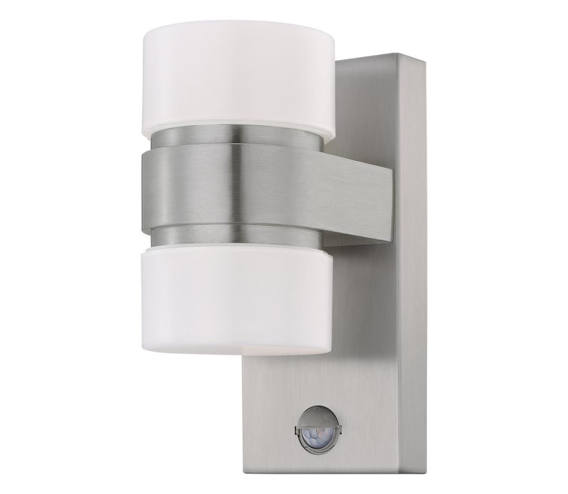 Eglo 96277 - LED Venkovní nástěnné svítidlo s čidlem ATOLLARI 2xLED/6W IP44 EG96277