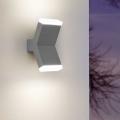 Eglo 96706 - LED Nástěnné svítidlo CANTZO 2xLED/4W/230V šedá