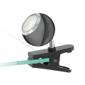 Eglo 96838 - LED Bodové svítidlo s klipem BIMEDA 1xGU10/3,3W/230V černá