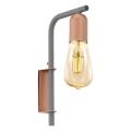Eglo 96921 - Nástěnné svítidlo ADRI 1 1xE27/60W/230V
