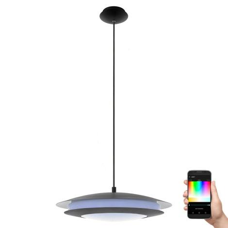 Eglo 96979 - LED RGB Závěsné svítidlo MONEVA-C 1xLED/27W/230V