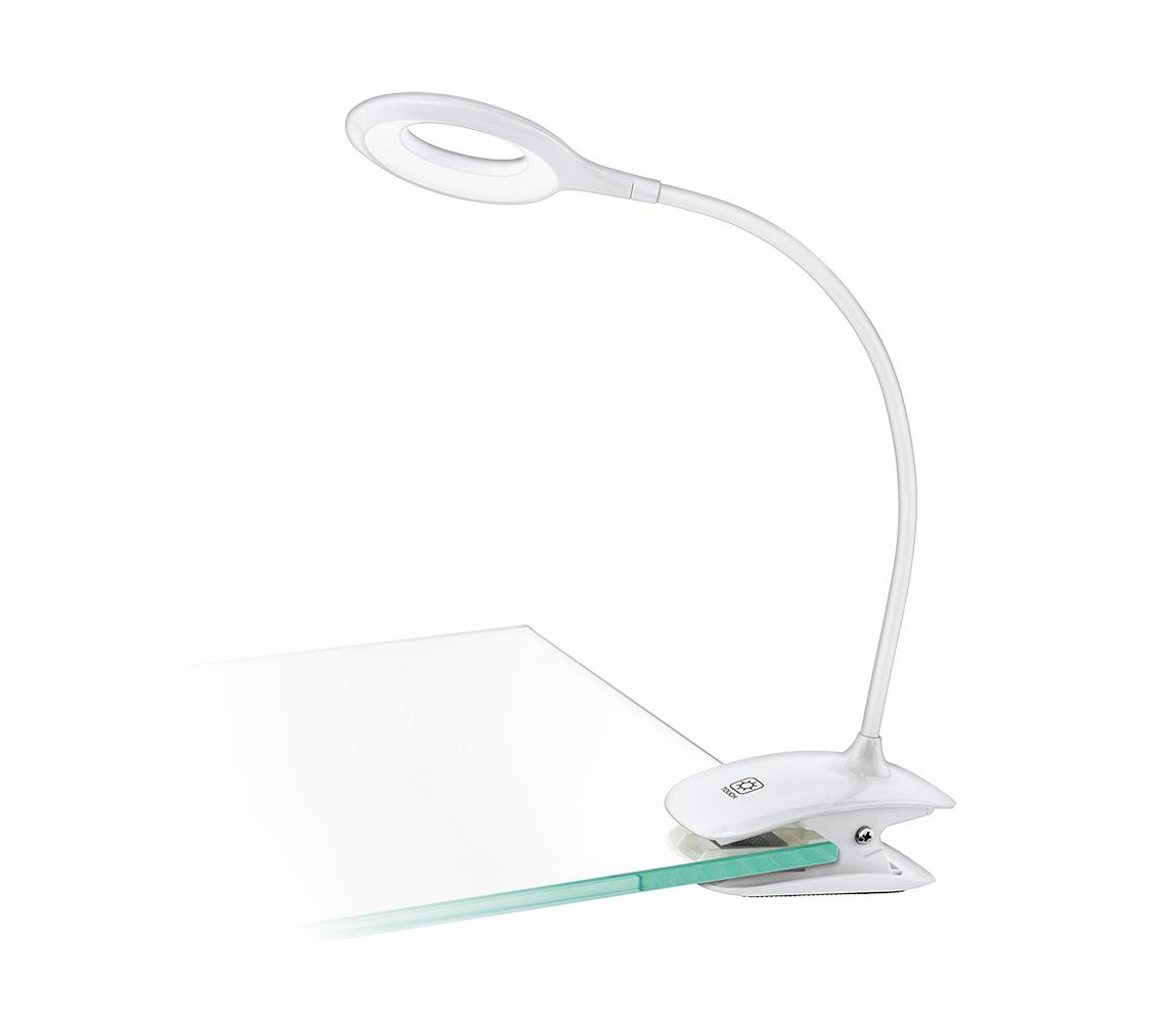 Eglo 97077 - LED Stmívatelná lampa s klipem CABADO 1xLED/3W/230V bílá EG97077