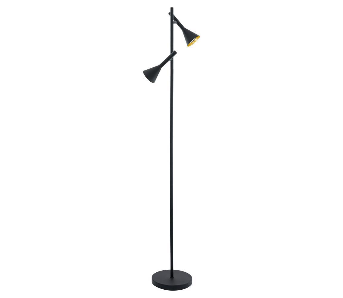 Eglo 97806 - LED Stojací lampa CORTADERAS 2xGU10/5W/230V EG97806