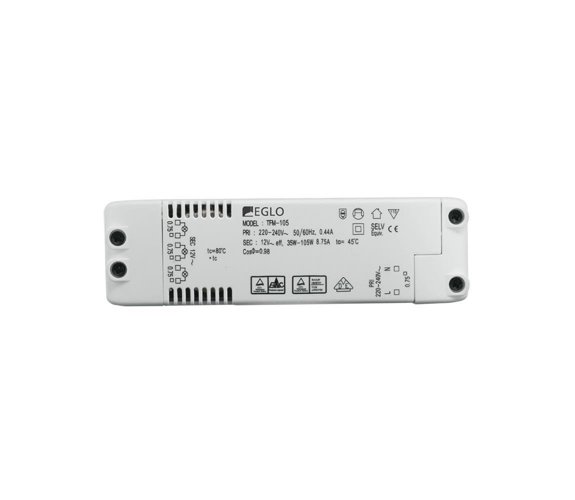 Eglo - Elektrický transformátor EINBAUSPOT 70W/230V/12V AC EG80885