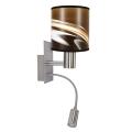 Eglo - Nástěnné svítidlo TUNJA 1xE27/60W/230V + LED/2,1W/230V