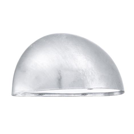 EGLO - Venkovní nástěnné svítidlo 1xE27/40W galvanizovaná ocel