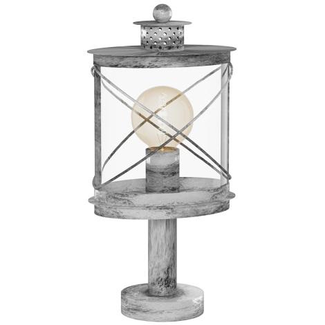 Eglo94867 - Venkovní lampa HILBURN 1 1xE27/60W/230V