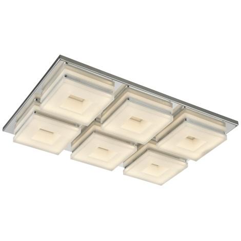 Esto 740044-6 - LED stropní svítidlo DOMINO 6xLED/5W/230V