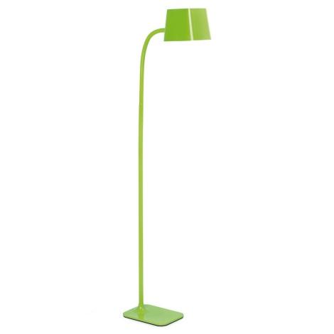FARO 29927 - LED Stojací lampa FLEXI 1xE27/9W/230V zelená