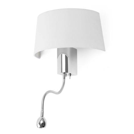 FARO 29941 - LED Nástěnné svítidlo HOTEL 1xE27/15W/230V + LED/1W
