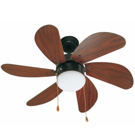FARO 33185 - Stropní ventilátor PALAO 1xE14/40W/230V