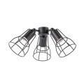 FARO 33714 - Svítidlo pro ventilátor YAKARTA 3xE27/60W/230V hnědá