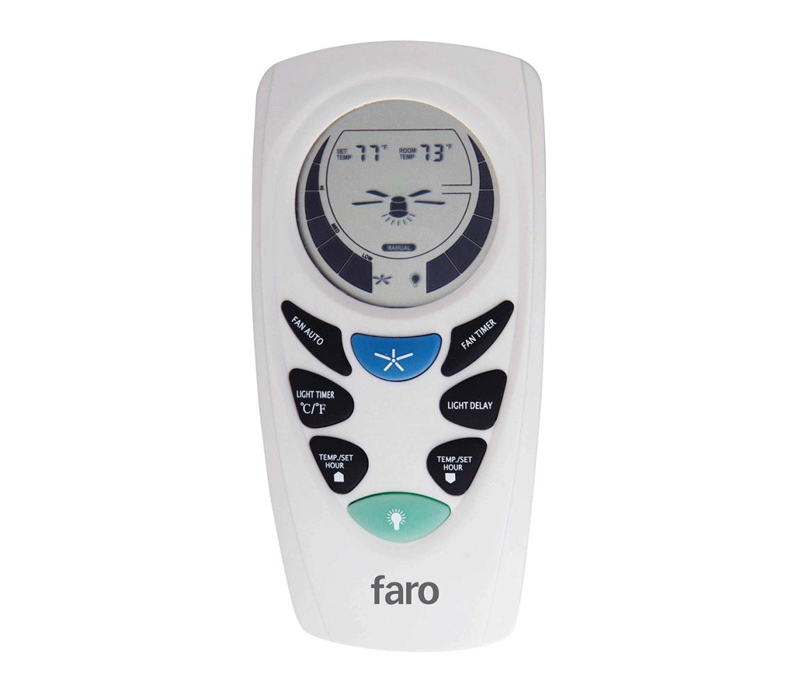 FARO Barcelona | FARO 33937 - Programovatelný dálkový ovladač pro stropní ventilátory | FA3393