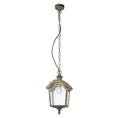 FARO 74330 - Venkovní lustr MOTRIL 1xE27/20W/230V