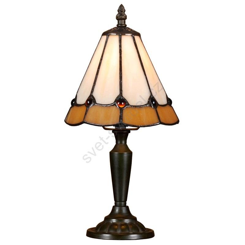 Stolná lampa TIFFANY 91 1xE14/40W