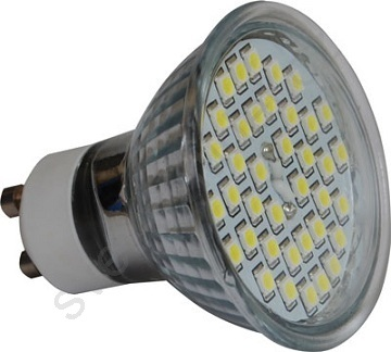 LED žárovka LED38 SMD GU10/4W/230V CW
