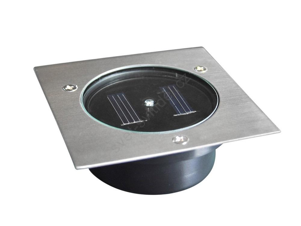 SL1037-1L Solární nájezdové svítidlo 1xLED 105mm