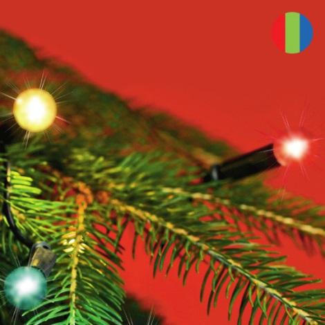 FK technics 5000134 - Vánoční řetěz vnitřní 7,5m 50xžárovka/230V