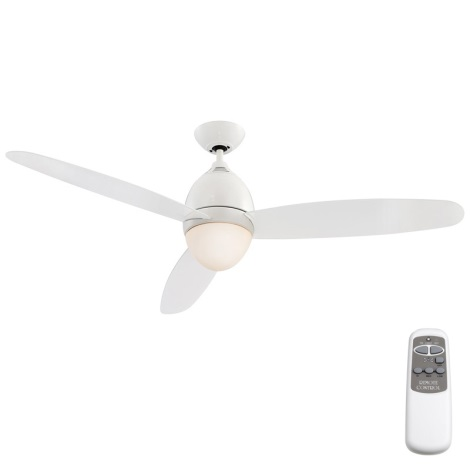 GLOBO 0300 - Stropní ventilátor PREMIER 2xE27/40W/230V