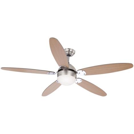GLOBO 0308 - Stropní ventilátor AZURA 1xE14/60W/230V