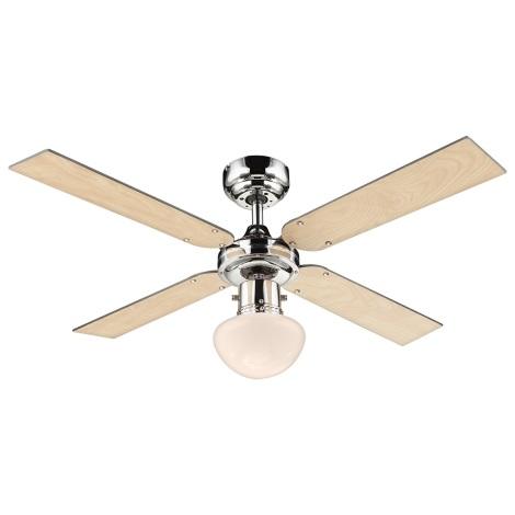 GLOBO 0330S - Stropní ventilátor CHAMPION 1xE27/60W/230V