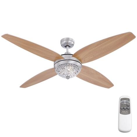 GLOBO 0342 - Stropní ventilátor  AZALEA 3xG9/33W/230V