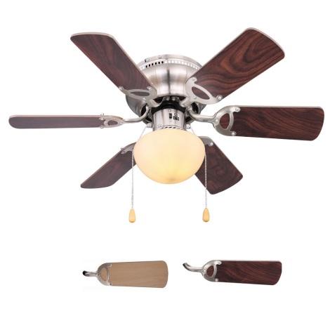 Globo 03802 - Stropní ventilátor UGO 1xE27/60W/230V