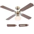 Globo 03804 - Stropní ventilátor CHAMPION 1xE27/60W/230V