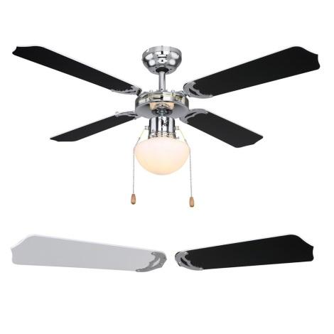 Globo 03805 - Stropní ventilátor CHAMPION 1xE27/60W/230V