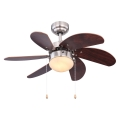 Globo 03810 - Stropní ventilátor RIVALDO 1xE14/60W/230V