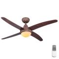 Globo 03814 - Stropní ventilátor LIZZ 1xE14/60W/230V + dálkové ovládání