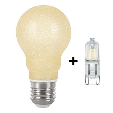 GLOBO 11261 - 2X- úsporná žárovka E27+G9/42W