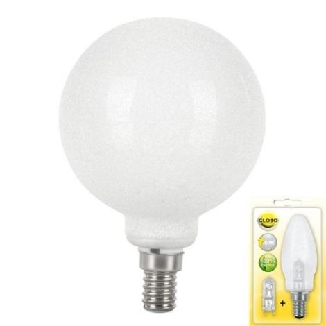 GLOBO 11268 - Úsporná žárovka E14/28W MINI GLOBE