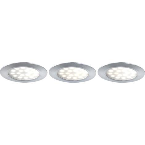 GLOBO 12314-3 - Downlight 3xLED/3,6W