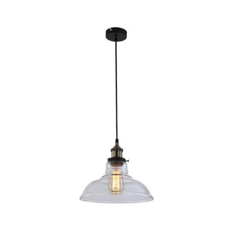 GLOBO 15063 - Závěsné svítidlo KNUD 1xE27/60W/230V
