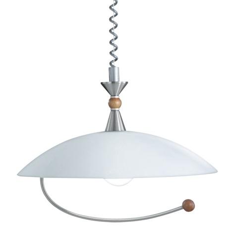 Globo 1540 - Závěsné stropní svítidlo MIURA E27/75W/230V