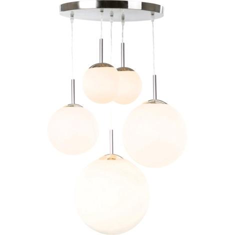 GLOBO 1581-5 - stropní svítidlo BALLA 5xE27/60W