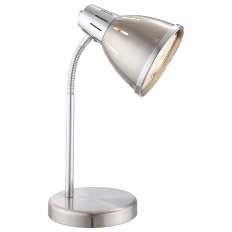 GLOBO 24777 - Stolní lampa EGO 1xE27/40W