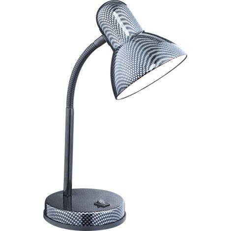 GLOBO 24893 - stolní lampa CARBON 1xE27/60W