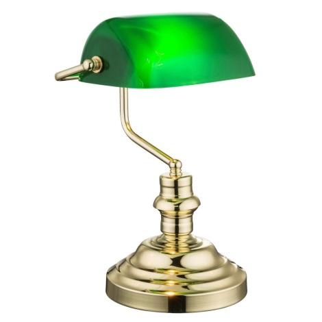Globo 2491K - Stolní lampa ANTIQUE 1xE27/60W/230V