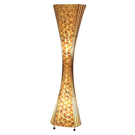 GLOBO 25827 - Stojací lampa BALI 2xE27/60W